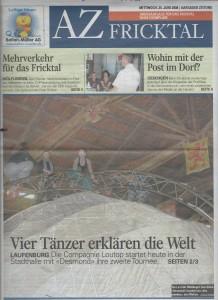 AZ FRICKTAL Titelseite 25.06.2008