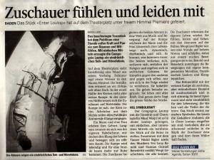 Aargauerzeitung 16.6.2007