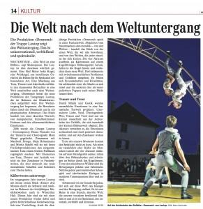 Der Landbote 28.08.2008