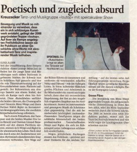 Solothurnerzeitung 17.08.2007