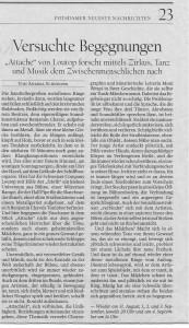 Potsdamer neueste Nachrichten 30.8.2011